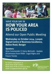 PCSP 22 Oct Public Meeting