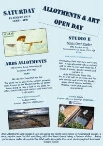 Ards Allotments Open Day Poster