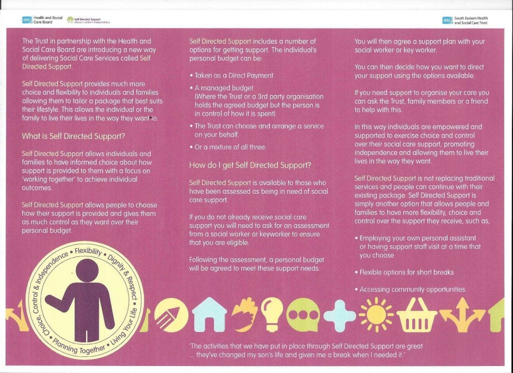 what is informed choice in health and social care