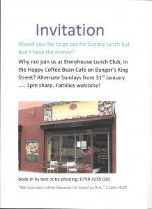Storehouse Sunday Lunch