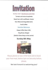 Storehouse Lunch 8 May