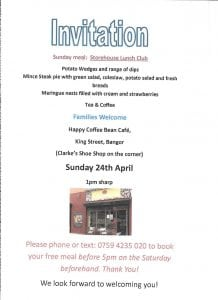 Storehouse Sunday Lunch 24 Apr
