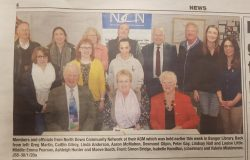 NDCN AGM at Bangor Carnegie Library Jan 2020